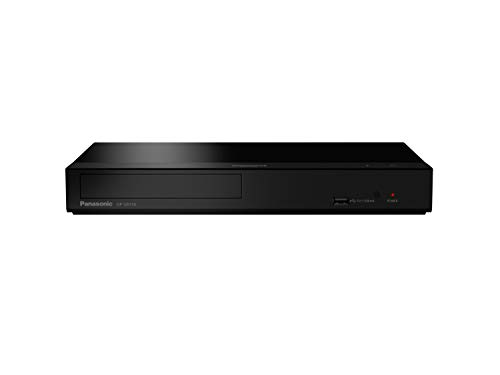 Panasonic DP-UB154EG-K Ultra HD Blu-ray Player in schwarz (HDR10+, 4K Blu-ray Disc, 4K VoD, Dolby Atmos, HDMI, USB)