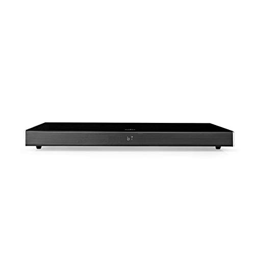 Nedis - Soundbase - 210 W - 2.1 - Bluetooth® - Subwoofer - Fernbedienung - Heimkino-Erlebnis - 1x 3.5 mm, 1x USB, 1x Koax Audio, 1x Optisch, 2X HDMI Eingang - 1x HDMI Ausgang - Schwarz