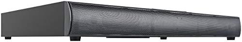 auvisio Sounddeck mit Radio: 2.1-Soundbase mit integriertem Subwoofer, Bluetooth, Radio, 120 Watt (Soundbar mit Radio)