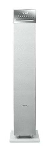 Muse M-1350 BTC Standlautsprecher mit Bluetooth, FM, CD, USB, Fernbedienung, White, M-1350 BTCW