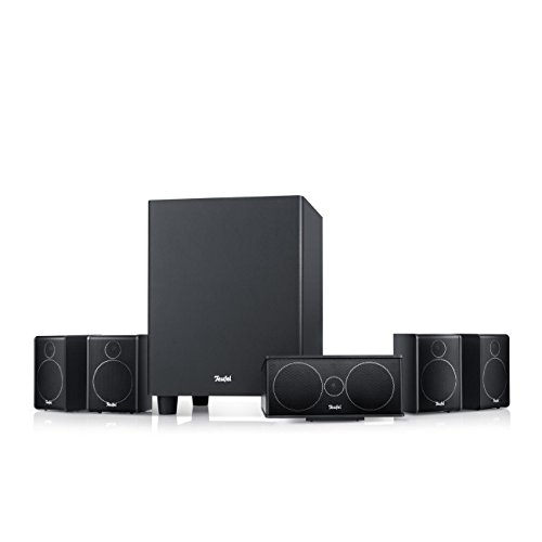 Teufel Consono 25 Mk3 5.1-Set Schwarz Heimkino Lautsprecher 5.1 Soundanlage Kino Raumklang Surround Subwoofer Movie High-End HiFi Speaker