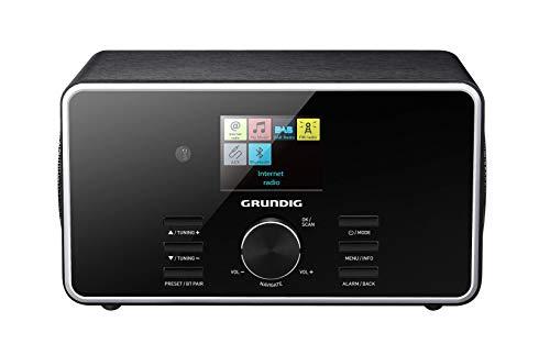 """Grundig DTR 5000 2.0 BT DAB+ WEB """"All-in-one""""-Internetradio mit Bluetooth und Empfang Schwarz"""