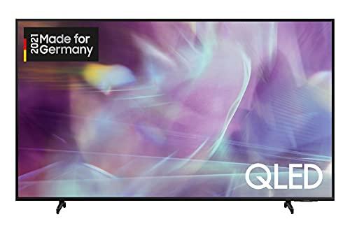 Samsung QLED 4K Q60A TV 75 Zoll (GQ75Q60AAUXZG), Quantum HDR, Quantum Prozessor Lite 4K, 100% Farbvolumen [2021]