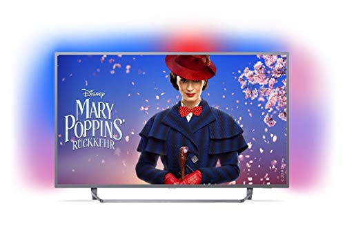 Philips Ambilight 55PUS7303/12 Fernseher 139 cm (55 Zoll) LED Smart TV (4K UHD, HDR Plus, Micro Dimming Pro, Android TV, Google Assistant)