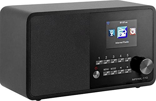 Imperial 22-321-00 i110 Internetradio (TFT Farbdisplay, WLAN, Line-Out, Netzteil) schwarz