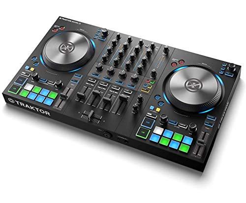 Native Instruments Traktor Kontrol S3 4-Kanal DJ Controller, 16 Pads, integrierte Soundkarte, Traktor Pro 3