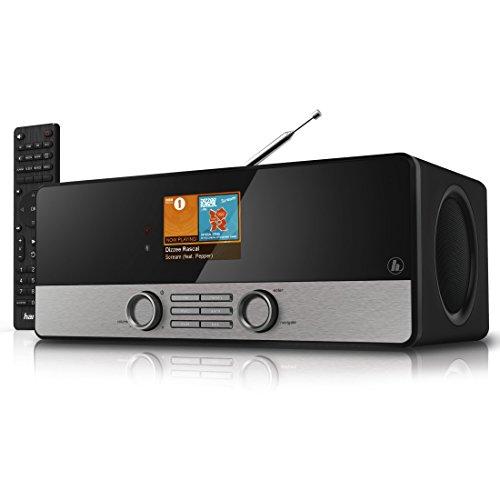 Hama Internetradio Digitalradio DIR3100MS (Spotify, WLAN/LAN/DAB+/FM, 2,8' Farbdisplay, USB, Weck- und Wifi-Streamingfunktion, Multiroom, Fernbedienung, gratis Radio App) schwarz