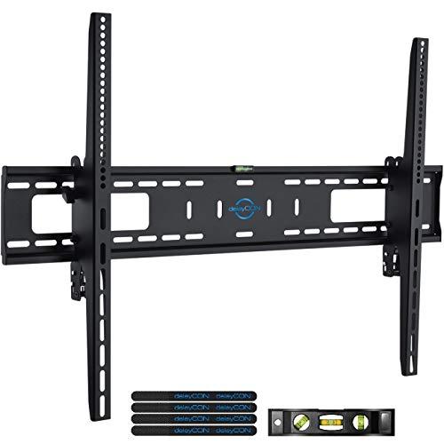 deleyCON Universal TV Wandhalterung 60'-100' Zoll (152-254cm) Neigbar - 75Kg - bis VESA 900x600 - Plasma LCD LED OLED TFT Curved Fernseher Halterung
