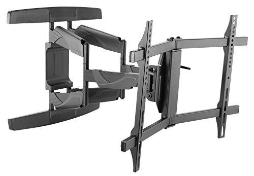 RICOO S3944, TV Wandhalterung, Schwenkbar, Neigbar, Universal 32-65 Zoll (81-165cm), TV-Halterung, für Curved LCD LED Fernseher, VESA 200x200-400x400