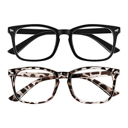 Blaulichtfilter Brille, Blaufilter Brille für Damen und Herren,Blaue Licht Blockieren Brille Computerbrille Anti Schwindlig Glasses,Anti blaues Licht Brille PC,TV,Gaming,UV Blaues Blockiert Brillen