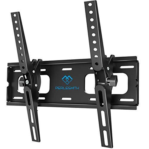 TV Wandhalterung Neigbare Halterung für 26-55 Zoll Flach&Curved Fernseher oder Monitor bis zu 60kg, max.VESA 400x400mm