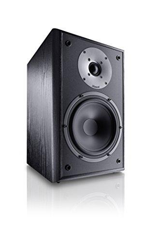 Magnat Monitor Supreme 202 I 1 Paar Regallautsprecher mit hoher Klangqualität I Passiv-Lautsprecherbox, Regallbox mit anspruchsvollem HiFi-Sound, Schwarz