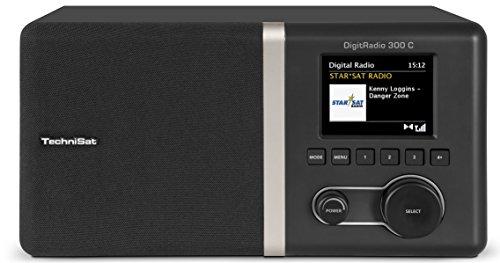 TechniSat DIGITRADIO 300 C – DAB+/UKW Radio – Digitalradio inkl. integriertem Radiowecker mit 2 einstellbaren Weckzeiten