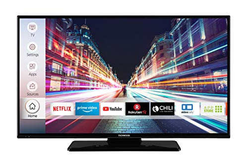 Techwood F40T52D 102 cm (40 Zoll) Fernseher (Full HD, Triple-Tuner, Smart TV, Prime Video, Works with Alexa)