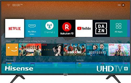 Hisense H50BE7000 126 cm (50 Zoll) Fernseher (4K Ultra HD, HDR, Triple Tuner, Smart-TV, Standard)