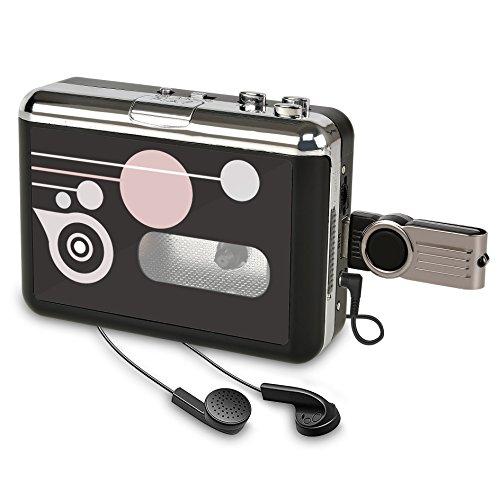 Kassettenspieler Standalone Portable Digital USB Audio Musik/Kassette zu MP3 Konverter mit OTG Speichern in USB Flash Drive/Kein PC erforderlich