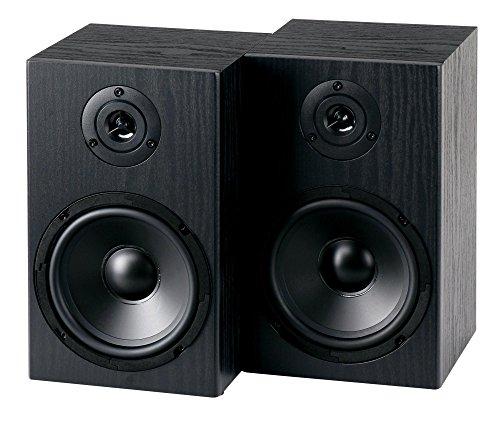 McGrey BSS-265 6,5' HiFi Regallautsprecher (1 Paar Boxen, 40 Watt (RMS), 2-Wege-System, auch für Wandmontage) schwarz