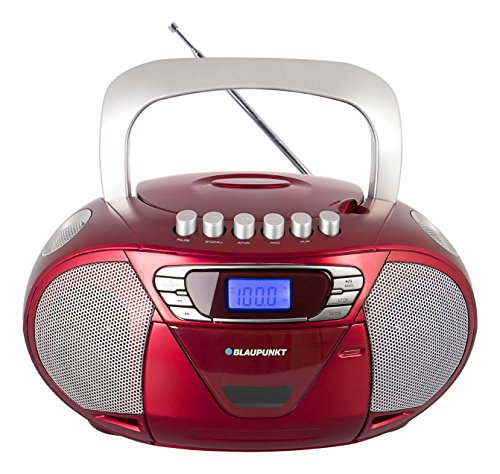 Blaupunkt B 11 PLL, tragbarer Radio Kinder CD Player mit Kassette und Stereo Kassettendeck
